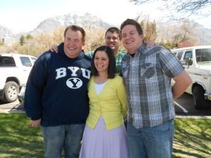 Brittany, Drew, Andrew & Brant