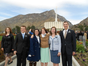 These are some of the 8 missionaries that went to NYC in February to get their visas.
