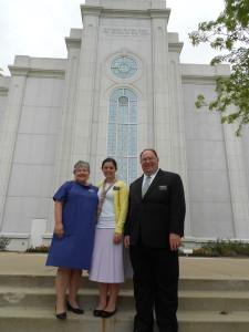 President & Sister Clark
