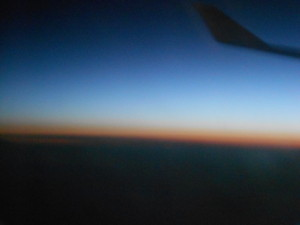 sunrise over the atlantic