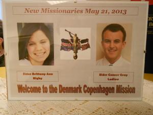 velkommen til den dansk mission!