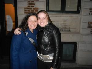 mig og Heidi - jeg elsker hende!