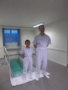 Matias Hansen's baptism - love this kid!!!!