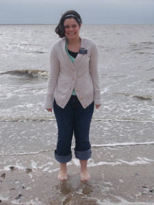 not sure if this is totally legal...but I'm standing in the atlantic ocean!! it was a little cold....and windy....