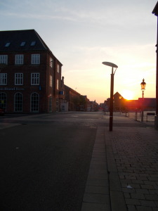 Friday night, on the streets of Esbjerg