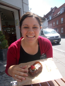 Something realllllly delicious I ate in Horsens :)