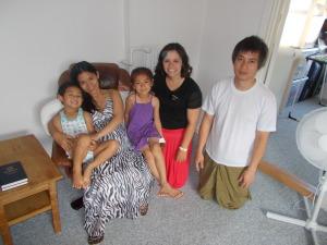 ana marie og min og deres familie