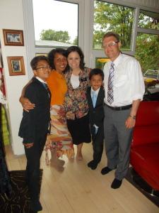 bishops familie